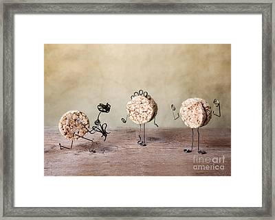 Simple Things 05 Framed Print by Nailia Schwarz