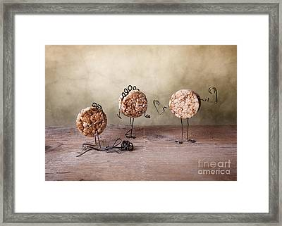Simple Things 07 Framed Print by Nailia Schwarz