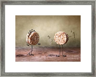 Simple Things 08 Framed Print by Nailia Schwarz