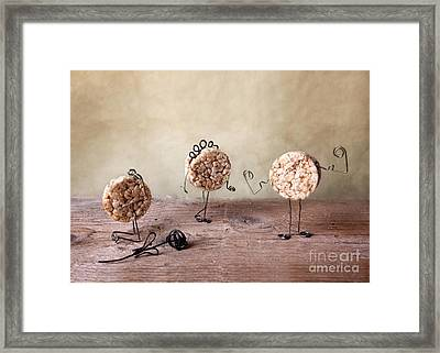 Simple Things 09 Framed Print by Nailia Schwarz
