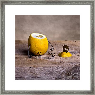 Simple Things 10 Framed Print by Nailia Schwarz