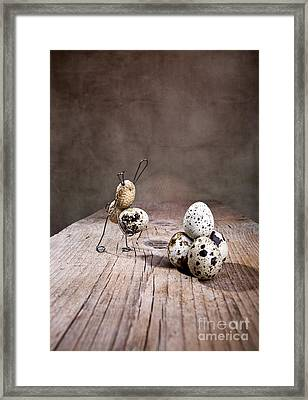 Simple Things Easter 01 Framed Print by Nailia Schwarz