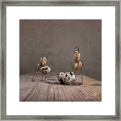 Simple Things Easter 02 Framed Print by Nailia Schwarz
