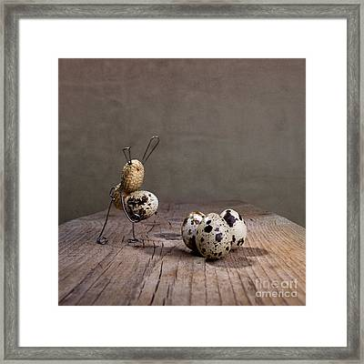 Simple Things Easter 03 Framed Print by Nailia Schwarz