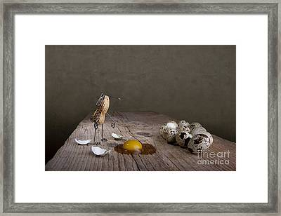 Simple Things Easter 05 Framed Print by Nailia Schwarz