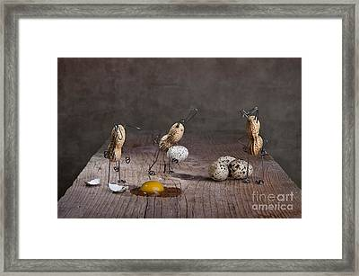Simple Things Easter 06 Framed Print by Nailia Schwarz