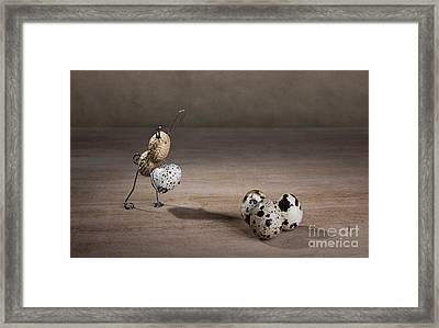 Simple Things Easter 08 Framed Print by Nailia Schwarz