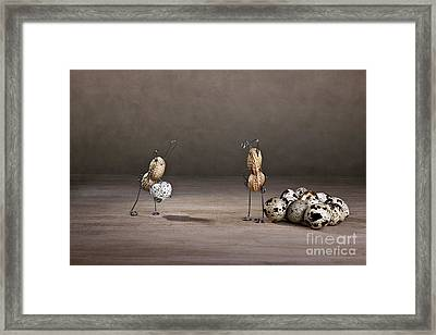 Simple Things Easter 09 Framed Print by Nailia Schwarz