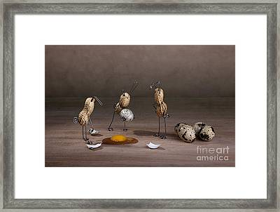 Simple Things Easter 10 Framed Print by Nailia Schwarz