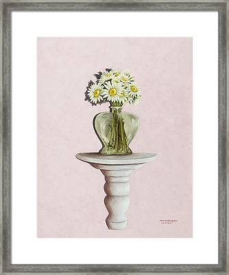 Simple Things Framed Print by Mary Ann King