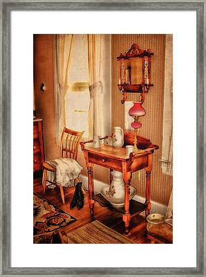 Simpler Times Framed Print by Mary Timman