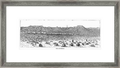 Sioux War: Fort Fetterman Framed Print by Granger