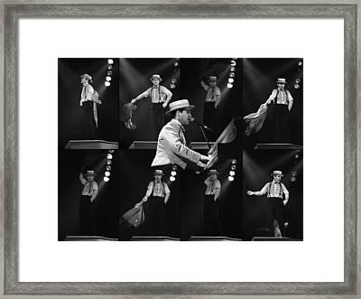Sir Elton John 9 Framed Print by Dragan Kudjerski