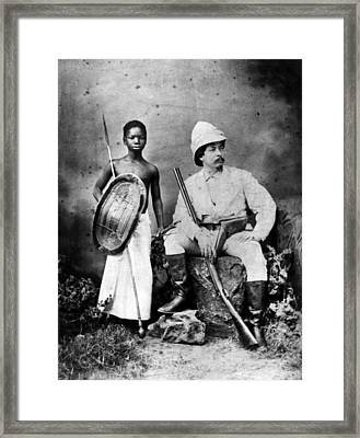 Sir Henry Morton Stanley Right Framed Print by Everett