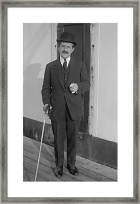Sir Joseph Duveen 1869-1939, British Framed Print by Everett
