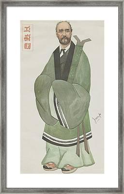Sir Robert Hart Framed Print by Hulton Archive