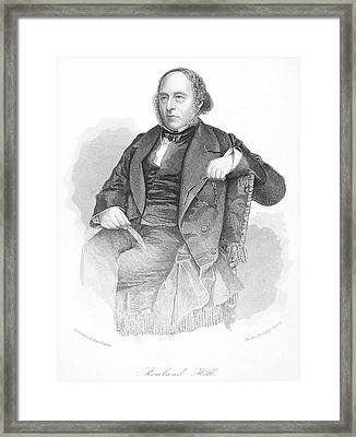 Sir Rowland Hill Framed Print by Granger