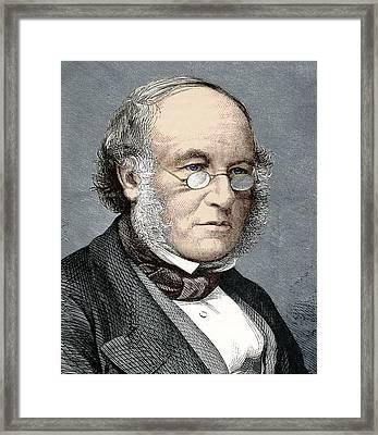 Sir Rowland Hill, Postal Reformer Framed Print by Sheila Terry