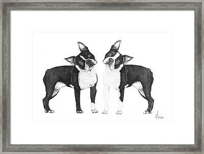 Sisters From Boston Framed Print by Murphy Elliott
