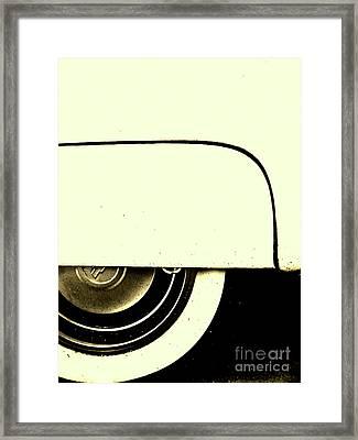 Sitting Pretty Framed Print by Joe Jake Pratt