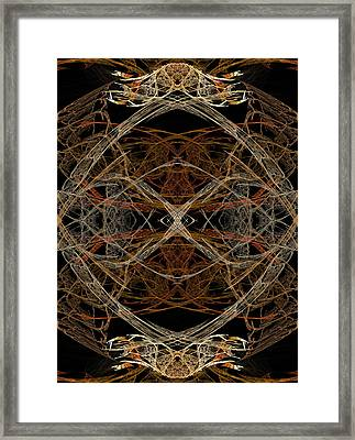 Skeleton 33 Framed Print by Michele Caporaso