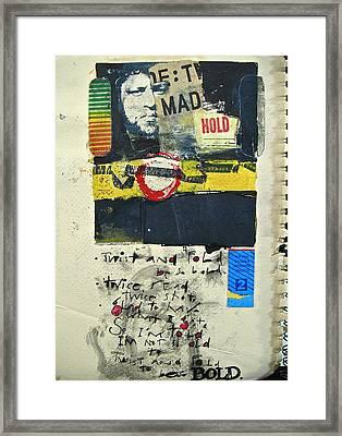 Sketchbook 2  Pg 0 Framed Print by Cliff Spohn