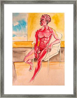 Skinless Framed Print by Nina Mirhabibi