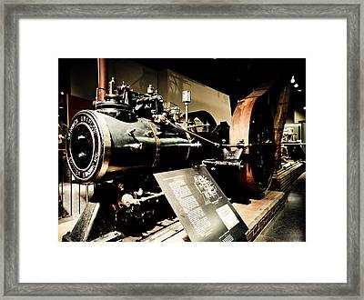 Skinner Unaflow Framed Print by David Hahn