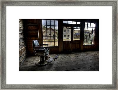 Skinner's Saloon - Bannack Ghost Town Framed Print by Daniel Hagerman