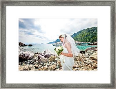 Skopelos Mamma Mia Wedding Framed Print by Nick Karvounis