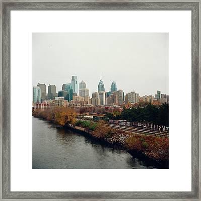 Skyline Framed Print by Photo courtesy of jenellerittenhouse.com