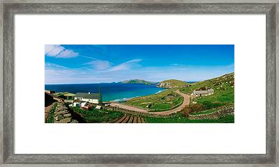 Slea Head & Blasket Islands, Dingle Framed Print by The Irish Image Collection