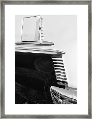 Sleek Framed Print by Luke Moore
