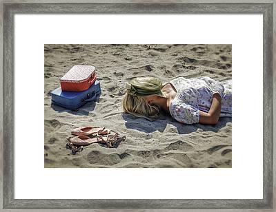 Sleeping Beauty Framed Print by Joana Kruse
