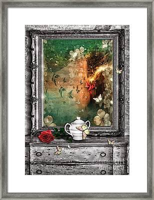 Sleeping Beauty Framed Print by Mo T