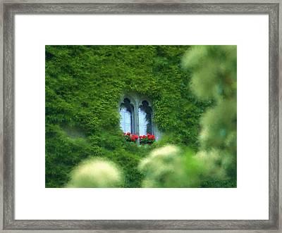 Sleeping Beautys Castle -- Dornroeschens Schloss Framed Print by Arthur V Kuhrmeier