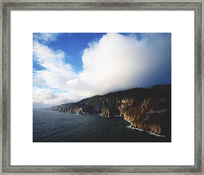 Slieve League, County Donegal, Ireland Framed Print by The Irish Image Collection