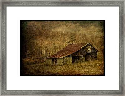 Slightly Out Of Kilter Framed Print by Christine Annas