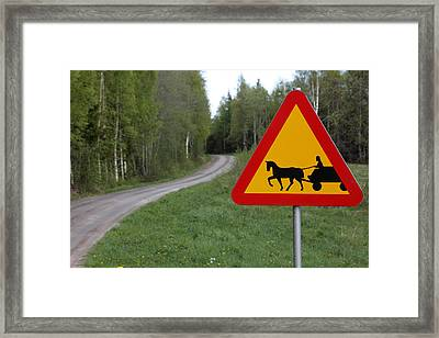 Slow Times Framed Print by Ulrich Kunst And Bettina Scheidulin