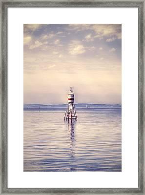 Small Lighthouse Framed Print by Joana Kruse
