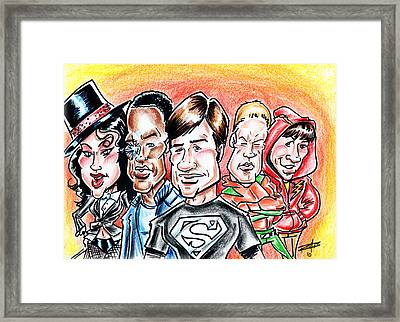 Smallville Framed Print by Big Mike Roate
