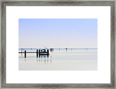 Smooth As Glass Framed Print by Bill Cannon