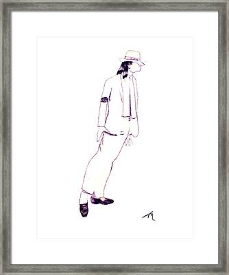 Smooth Criminal Framed Print by Lee McCormick