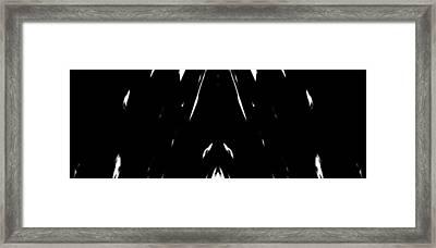 Snowfall Framed Print by Danny Lally