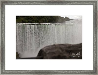 So Close And So Far Framed Print by Amanda Barcon