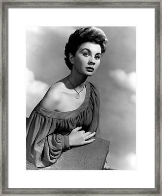 So Long At The Fair, Jean Simmons, 1950 Framed Print by Everett