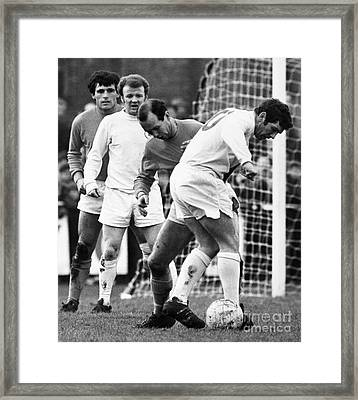 Soccer Match, C1970 Framed Print by Granger
