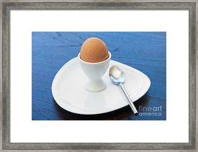 Soft-boiled Egg Set Framed Print by Atiketta Sangasaeng