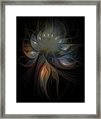 Soft Metals Framed Print by Amanda Moore