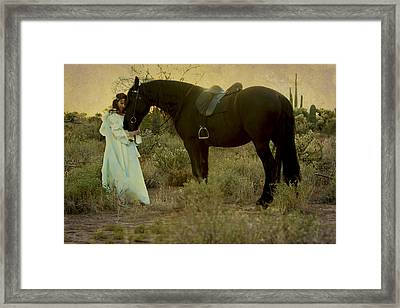 Solace Framed Print by Jean Hildebrant